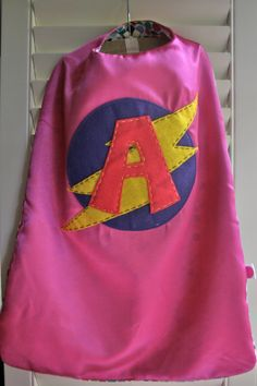 66ae89bfa PERSONALIZED Superhero Cape and Mask for girls - You choose colors ...