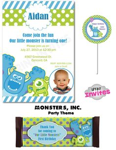 94fbdff55778dfd8b6541b479770569a cute monsters monsters inc monsters inc invitation printable birthday party invitation,Monsters Inc Birthday Invitations