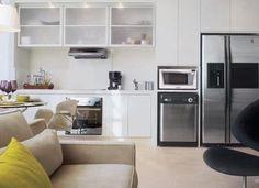 Cozinha e sala conjugada - ideias de decoração