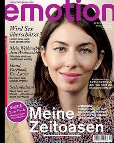 Sofia Coppola shot by Alex Trebus for emotion magazine December 2010 | Alex's website alextrebus.com