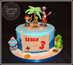Jake and the neverland pirates! | Yummy Treats by Yane | Flickr
