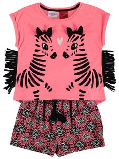 Girls Zebra Tassel Pyjama | Best&Less™ Online