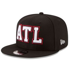9967ff9e73f Atlanta Falcons New Era Home Turf 9FIFTY Adjustable Snapback Hat - Black  AtlantaFalcons  New Era