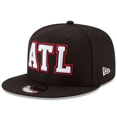 8ab906f2927 Atlanta Falcons New Era Home Turf 9FIFTY Adjustable Snapback Hat - Black  AtlantaFalcons  New Era