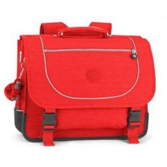 School Briefcase Kipling Poona M Red- Školní aktovka Kipling Poona M Red School Briefcase Kipling Poona M Red - Smileys, Splat Le Chat, Red Bags, Briefcase, School Bags, Cartoon, Vintage, Midget Cat, Preschool
