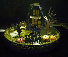 Created by Rossi: Halloween tafereeltje