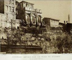 Pierre Tremaux, Bukoleon Sarayı Kalıntıları, 1850