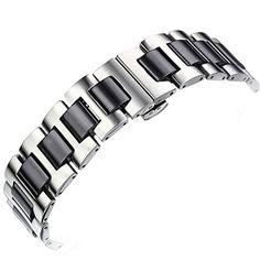 Stainless Steel Link Band W/ceramics Watchband for Apple Watch 38mm (Black Ceramic + Steel) Biaoge http://www.amazon.com/dp/B010LAJIFQ/ref=cm_sw_r_pi_dp_okkNvb1T6KHJ4