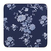 National Trust Set of 4 Blue Coasters