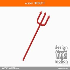 ACS065_Trident. Part of D&M Character Kit. After Effects Templates, Trident, Motion Graphics, Online Business, This Or That Questions, Kit, Blog, Character, Accessories
