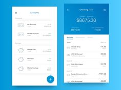Hey all, These are a few more screens for my new site of a redesign of my current banking app. I'm sure like many of you I use my phone to check my account balance all the time, but the informati...