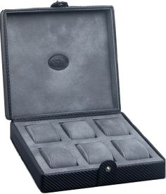 Underwood - 6 Large Watch Storage Box - Carbon | UN5210/CF
