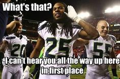 Will everyone finally admit that the Hawks are the best team in the NFL?!