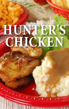 Martina McBride, Hunter's Chicken with Classic Mashed Potatoes recipe