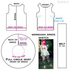 Morgiana cosplay tutorial