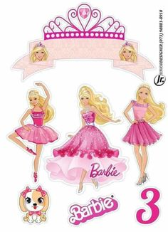 Barbie Doll Birthday Cake, Barbie Theme, Barbie Party, Bolo Barbie, Barbie Cake, Little Mermaid Cupcakes, Minnie Mouse Images, Barbie Drawing, Disney Princess Castle