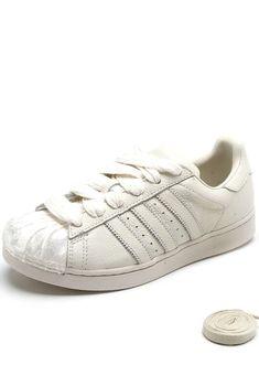 ad52399d96 Tênis adidas Originals Superstar W Off-White