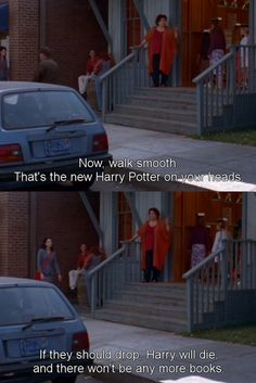 Miss patty, Gilmore girls---harry potter and gilmore girls doesnt get any better