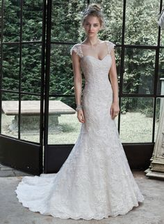 Marigold - by Maggie Sottero NOW available at www.weddingtreasuresbridal.com