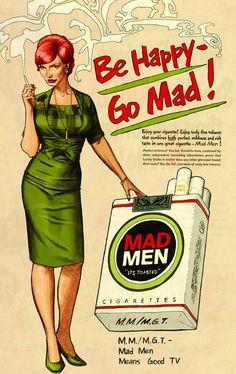 Mad Men by Dustin Weaver