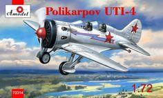 Polikarpov UTI-4. A Model, 1/72, No.AMU72314. 16 GBP
