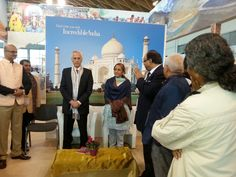 ambasciatore indiano in italia al TTG presso il ns stand di Incredible India