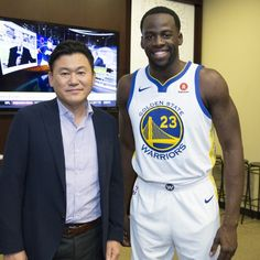 DraymondGreen and  AndreIguodala help introduce  GoldenStateWarriors  partnership as they signed largest NBA advertising 8eaf9c58f