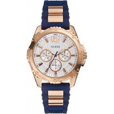A collection of Iconic signature combinations inspired by the GUESS lifestyle. Trendy fashion-forward designs from GUESS Watches offer dynamic styling. Sport Watches, Watches For Men, Guess Watches, Swatch, Accessorize Shoes, Bracelet Silicone, Toned Women, Gucci Fashion, Trendy Fashion