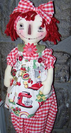 RETRO RAGGEDY ANN CHECK MY SHOP can be ordered