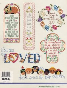 Expressions-of-Faith-Religious-Counted-Cross-Stitch-Pattern-Booklet-ASN-3672