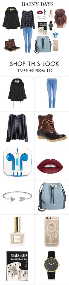 """Rainy Days"" by emilyhuang07 on Polyvore featuring Burberry, Paige Denim, WithChic, Sperry, PhunkeeTree, Arbonne, Bling Jewelry, INC International Concepts, Casetify and Olympia Le-Tan"