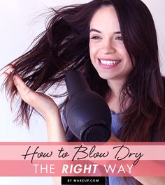 Blowdrying your hair the right way is extremely important! Have you been damaging your hair? Find out here!