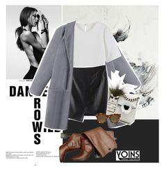 """Yoins"" by anxhela-beluli ❤ liked on Polyvore featuring Fendi, Diane Von Furstenberg, CÉLINE and yoins"