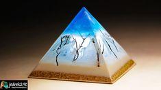 Today we will make a pyramid-shaped epoxy resin lamp Epoxy Resin Art, Night Lamps