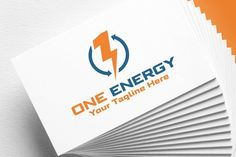 One Energy | Logo Template by REDVY on @creativemarket