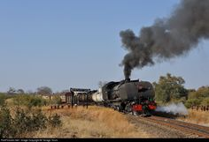 RailPictures.Net Photo: 15A395 National Railways of Zimbabwe Garratt 4-6-2+2-6-4 at Samabwizi, Zimbabwe by Tanago Tours