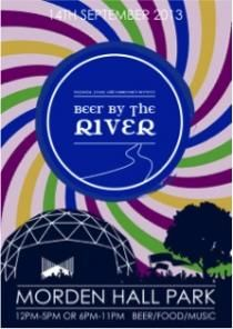 Beer by the River - Your chance to win a pair of tickets to help Sambrook's celebrate its 5th birthday at Morden Hall Park in south London.