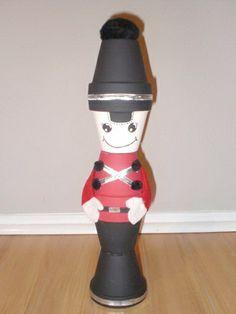 Christmas - Clay Pot Craft