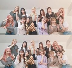 """(VLIVE) 190701 IZ*ONE: [✌️] WIZ*ONE gather around🌟 We think about WIZ*ONE anytime, anywhere 💕 """"translation by iz-onez take out with full credit """" Yuri, Kpop Girl Groups, Kpop Girls, Secret Song, Survival, Fandom, Japanese Girl Group, Famous Girls, Kim Min"""