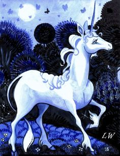 The Last Unicorn...my movie growing up that I watched over and over :)