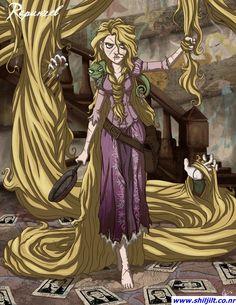 "Princesas ""demoníacas"" Disney - Rapunzel"