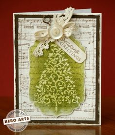 Hero Arts Cardmaking Idea: Season's Greetings
