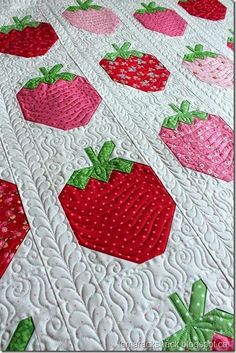 Strawberry Social pattern