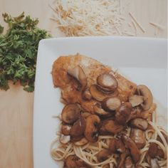 Haute Dish Housewife: Just Another Manic (Marsala) Monday This Chicken Marsala will become a staple in your house, it's THAT delicious! It's sweet, delectable AND takes less than 30 minutes to make.