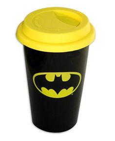"""Tasse de voyage Batman """"Coffee-To-Go-Becher Logo"""""""