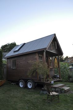 tiny house on wheels, amazing interior too If you like please follow us! (CLOSEST TO PERFECT IF BATH AERA AWAY FROM KITCHEN)