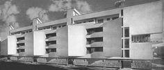 Hans Scharoun - Siedlung Sternestadt ad Amburgo 1931-33