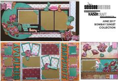 The Offical South Africa KAISERCRAFT Scrapbooking Kit Club