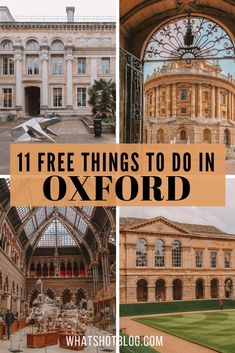 oxford shoes Here are the 11 best free things to do in Oxford, England! Oxford is one of the most expensive cities in the UK but your trip doesnt have to break the bank. Here are the top things to see and do in Oxford for free. Places To Travel, Places To See, Travel Destinations, Travel Sights, Things To Do In London, Free Things To Do, Europe Travel Guide, Travel Guides, Travel Abroad