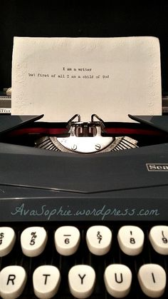 Being a writer at heart Call Her, Typewriter, Friday, Heart, Hearts